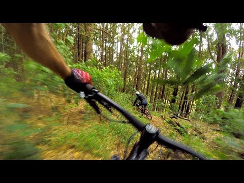 OFF MAP AND STRAIGHT DOWN | Mountain Biking Cape Town in South Africa