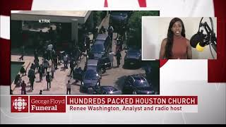 RENEE WASHINGTON: Live on CBC News on George Floyd