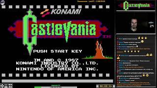 Castlevania прохождение 100% | Игра на (Dendy, Nes, Famicom, 8 bit) Konami 1987 Стрим HD [RUS]