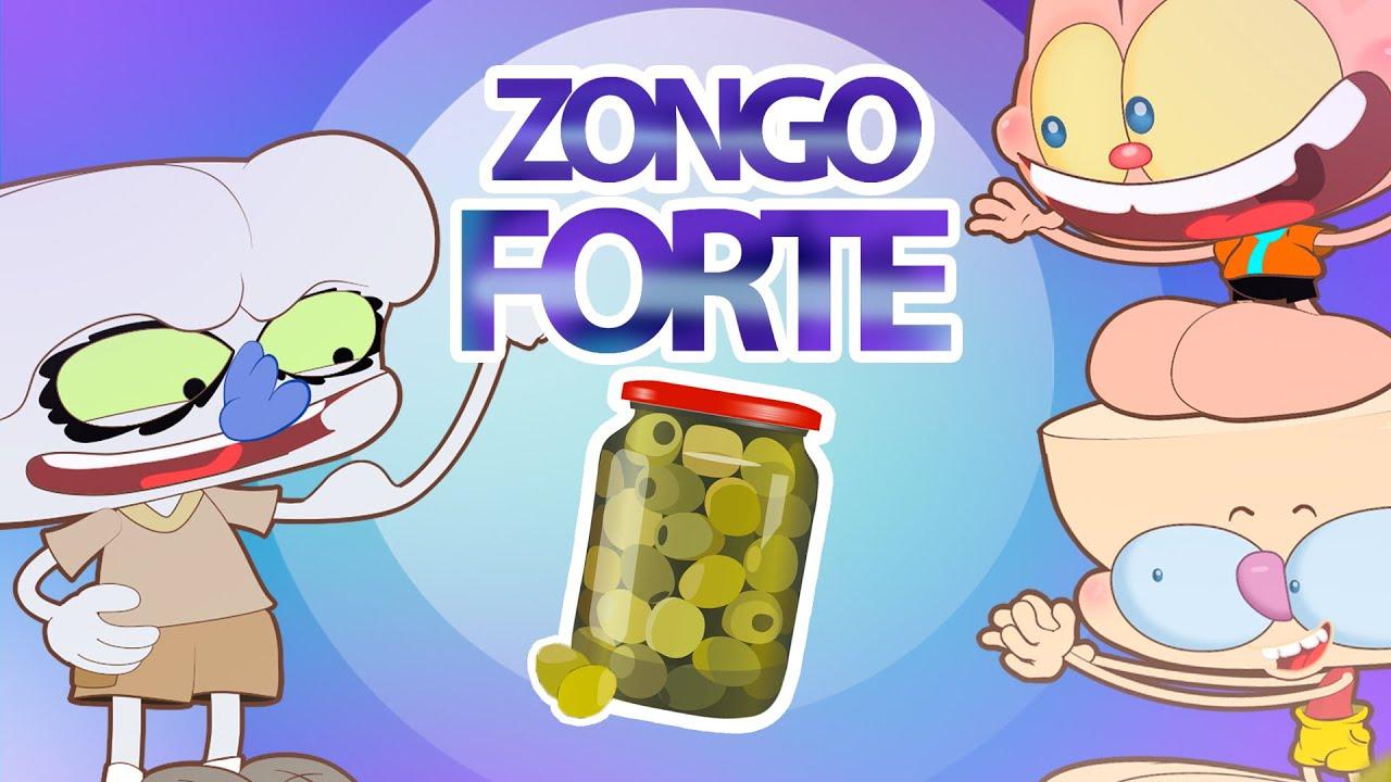 Mongo e Drongo e o Zongo FORTÃO 💪 - Desenho animado com Mongo e Drongo e sua turma