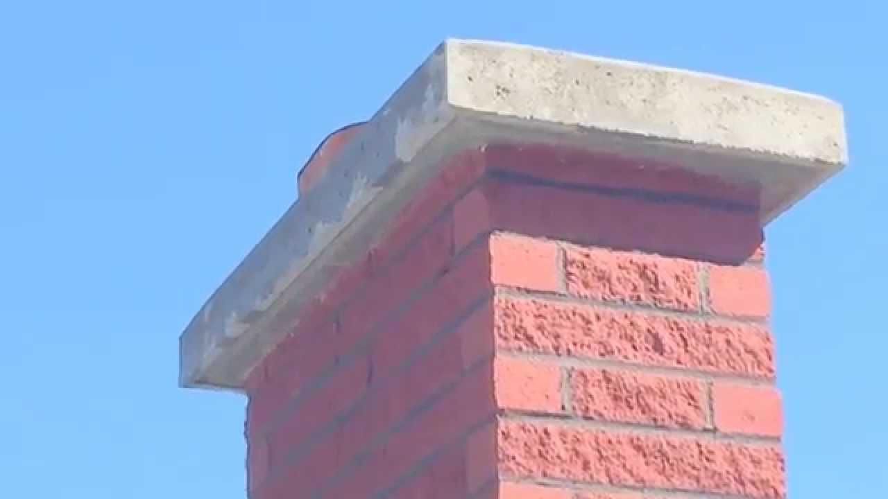 Concrete Chimney Crown Cap Replacement Cost Drip Edge