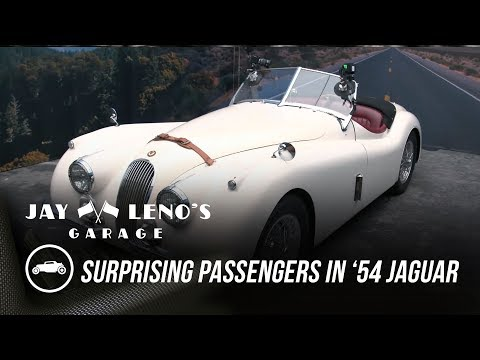 Jay Leno Surprises Passengers in His '54 Jaguar - Jay Leno's Garage