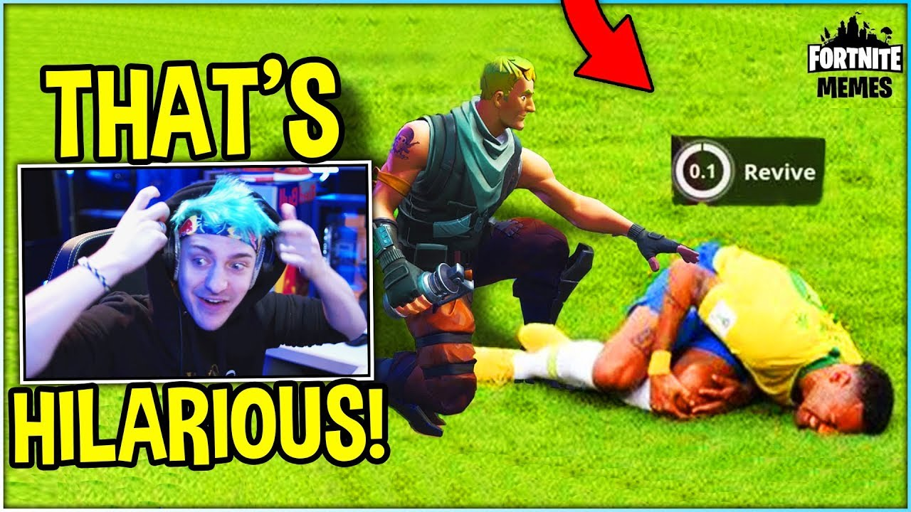 Ninja Reacts To Fortnite Memes That Cured My Anxiety And Depression Hilarious Youtube