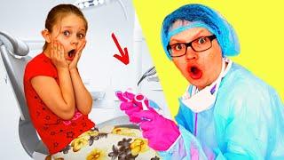 Алиса не хочет лечить зубы на канале Лисенок Алисенок