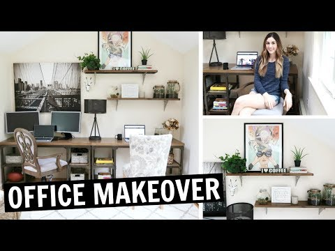 OFFICE TOUR | DIY Office Makeover Reveal