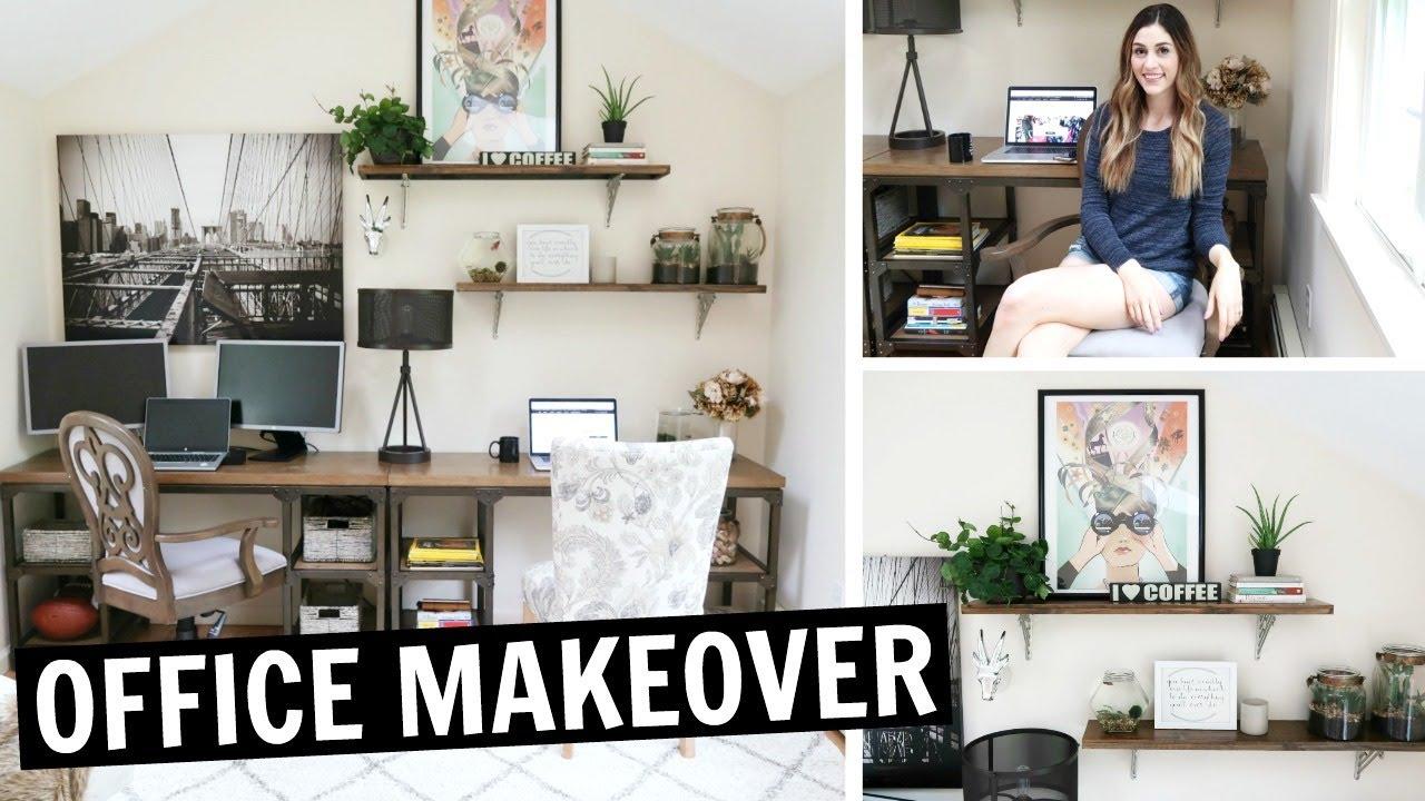 Merveilleux OFFICE TOUR | DIY Office Makeover Reveal