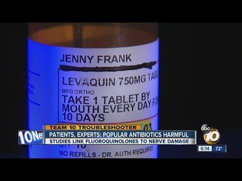 Patients, experts: Popular antibiotics could cause permanent damage