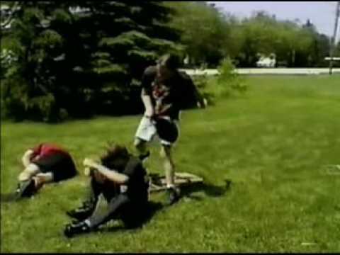 Classic Backyard Wrestling (1996) DVLH Luke Hadley - YouTube