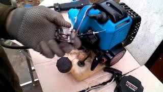 Не заводится китайская мотокоса.Диагностика и ремонт.(, 2016-04-17T10:51:33.000Z)
