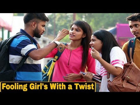 Awkwardly Talking to Girl's With a Twist - Prank In Techno India College| Pranks In India | By TCI