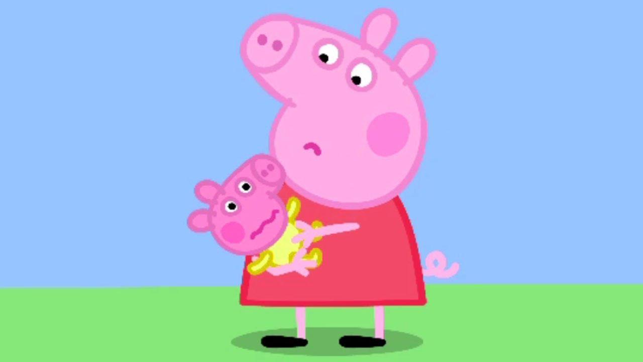 Peppa pig en espa ol peppa y el beb dibujos animados for En youtube peppa pig