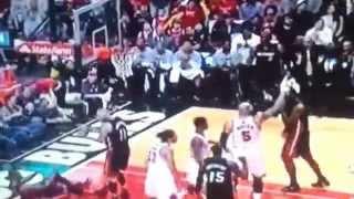 Jimmy Butler breaks Lebron