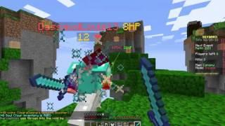 Minecraft gameplay: Episode 1 - Skywars