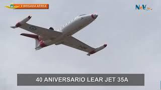 Gambar cover NeV Tv - 40° Aniversario del Lear Jet 35A - 2017