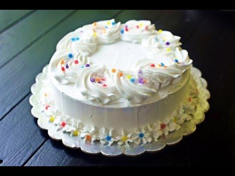 Moist Eggless Vanilla Cake   No Butter, No Condensed Milk   एगलेस वनीला केक