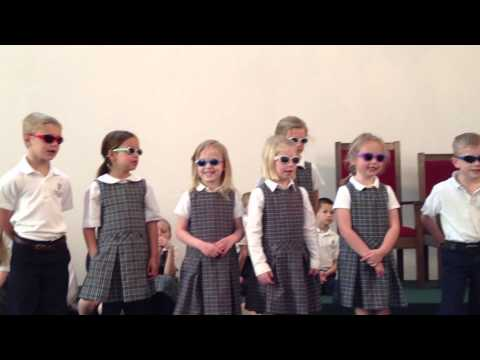 Covenant Classical Academy Kindergarteners - Tens Rap