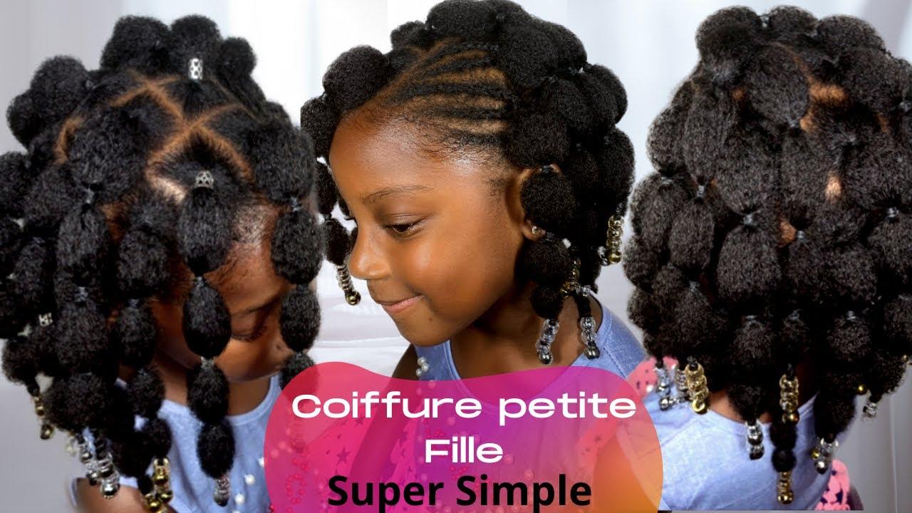 Idee Coiffure Pour Petite Fille Avec Cheveux Naturel Youtube