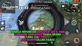 Gambar cover Quotes untuk story WA || Free Fire Batelgrouns Indonesia || Sebuah Penyesalan Lirik