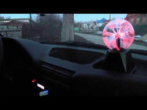 Диско шар в машину (плазменный