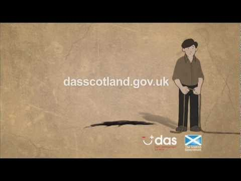 Debt Arrangement Scheme (DAS) television advert