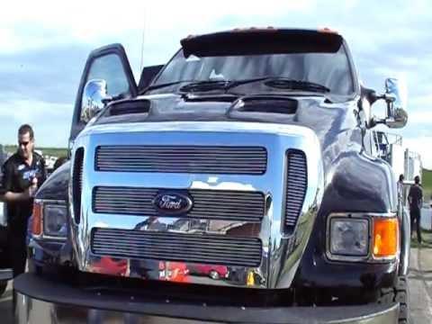 F150 Vs F250 >> BIG BADASS FORD F650 - YouTube