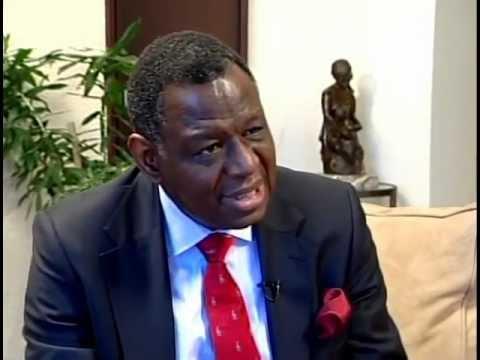 Dr. Babatunde Osotimehin, Executive Director, UNFPA speaks with Ian Boyne, JIS