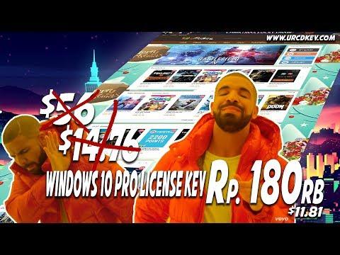 Beli License Windows 10 Pro Original cuman 180k? Cuman di urcdkey.com