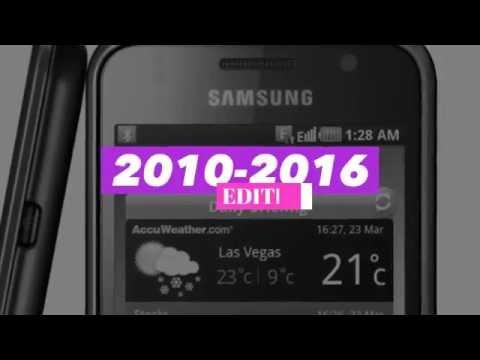 Samsung Galaxy S Evolution (2010-2016)