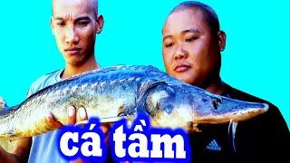 Cá Tầm 3 Món - Ẩm Thực Hài Hước | Tam Trọc
