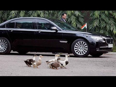 high security car pm india - YouTube