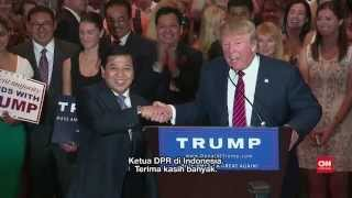 Donald Trump Bertemu dengan Ketua DPR Setya Novanto di AS