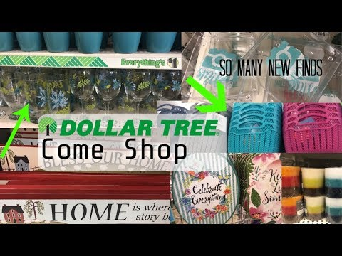 OMG PRETTY NEW BINS ! Organization Jackpot!  - Dollar Tree Come Shop With Me New Finds