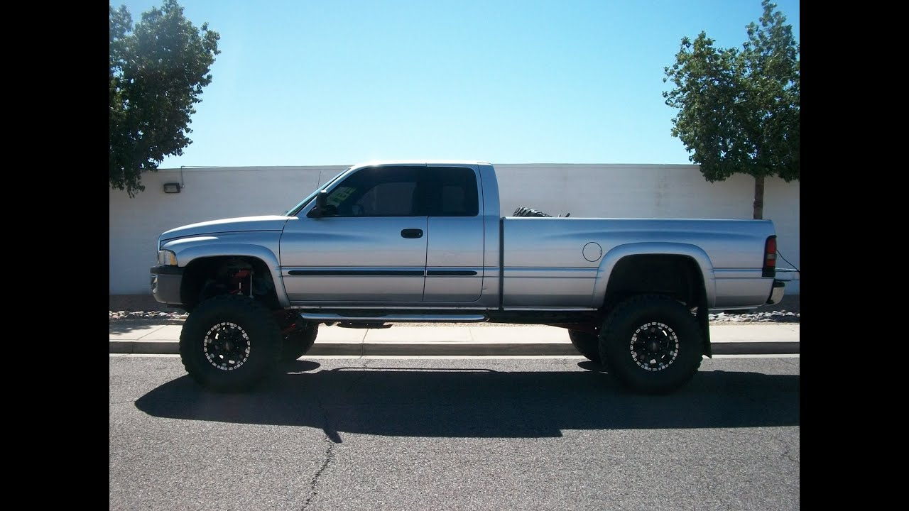 Ram  Single Cab Long Bed Lifted