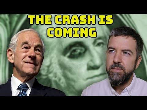 Ron Paul On The Coming Dollar Crash, Cashless Society, Cryptocurrencies, Trump & The Deep State!