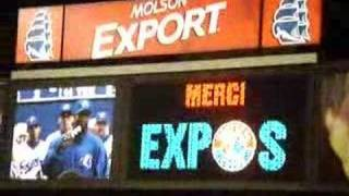 The Final Tribute To The Montreal Expos.