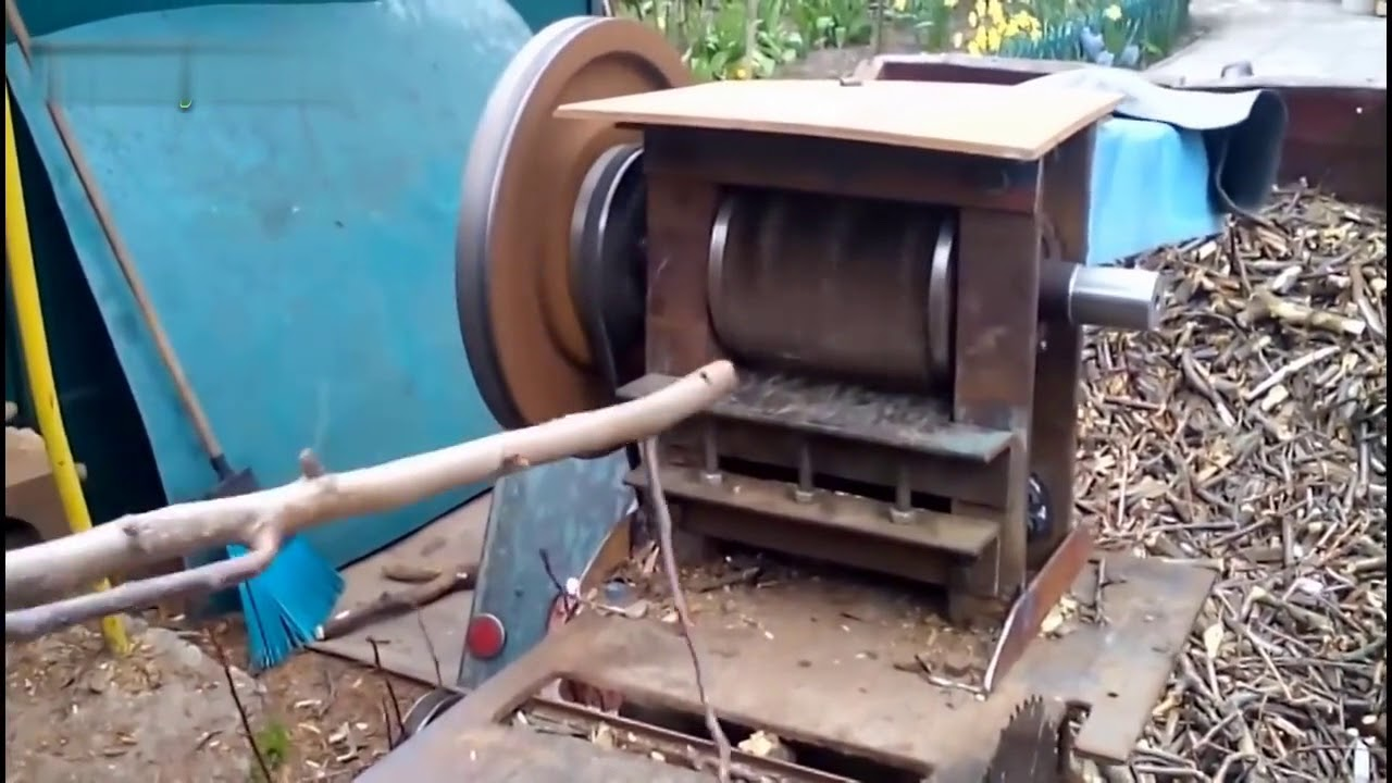 Best Amazing Homemade Wood Chipper