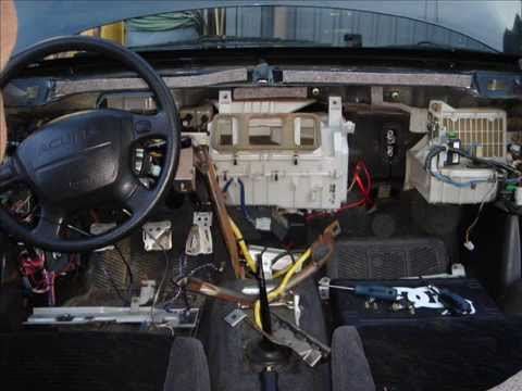 honda 70 wiring diagram replacing heater core on 96 acura integra gsr youtube  replacing heater core on 96 acura integra gsr youtube