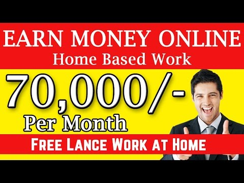 How To Earn Money Online | Earning 70,000 – 80,000 Per Month | Home Based Jobs | No Investment |