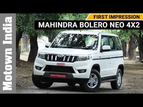 First Drive of Mahindra Bolero Neo 4x2