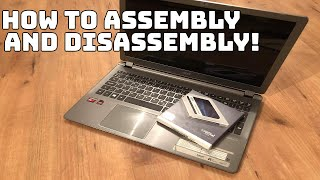 How to assembly and disassembly a Acer aspire V5-552G