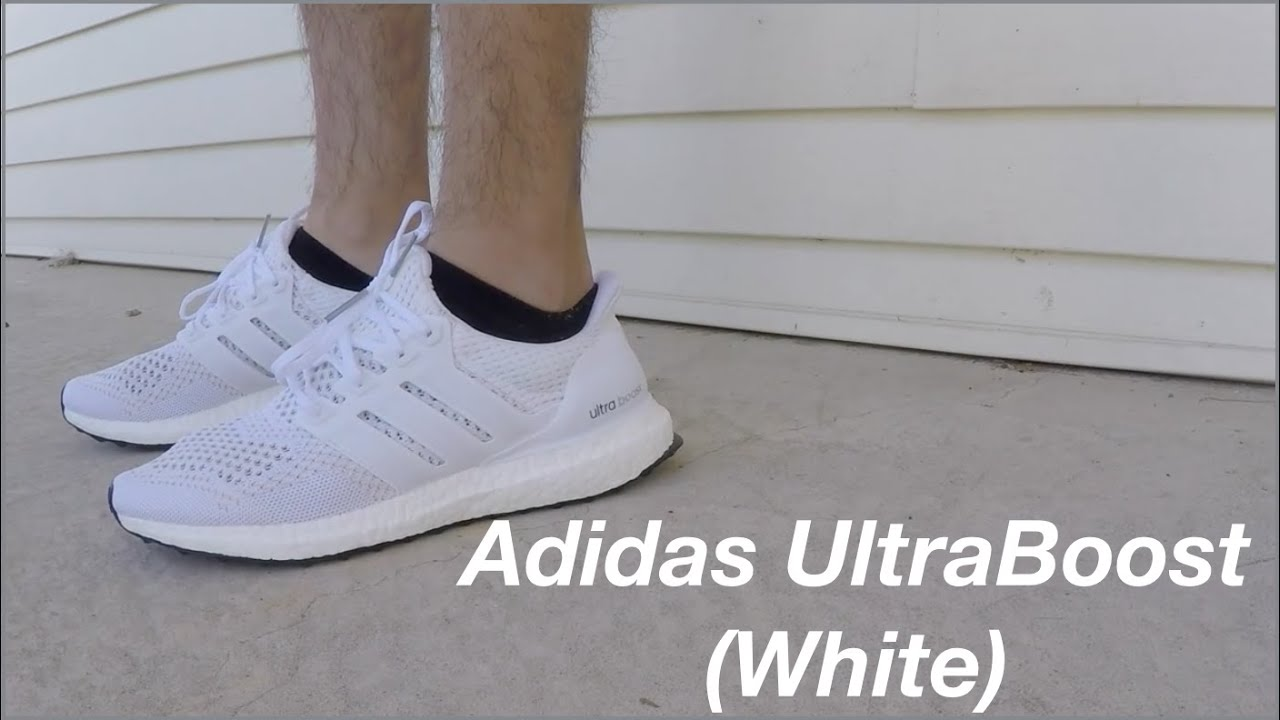 0e89d5ab2d5b Adidas UltraBoost (White) - YouTube