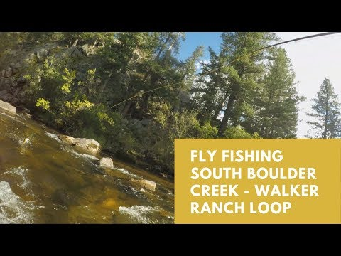 Fly Fishing South Boulder Creek - Walker Ranch Loop