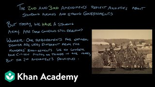 The Second Amendment | The National Constitution Center | US government and civics | Khan Academy