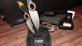 CAMILLUS Охотничьи Ножи Hunting Knives Новые, открываем упаковку. Unboxing.