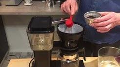 Kunnon kahvia kotikeittiössä. Jakso 3: Tavallinen kahvinkeitin ja kahvimylly.