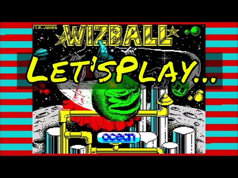 Let's Play... Wizball (ZX Spectrum) (1987) (Ocean Software) #HappyBirthdaySpectrum