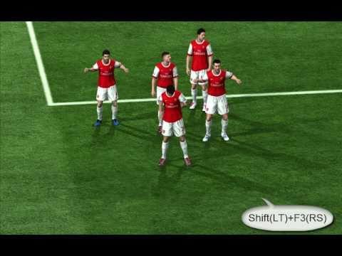 fifa 11 celebrations tutorial for keyboard and gamepad pc youtube rh youtube com FIFA Soccer 13 FIFA Soccer 07