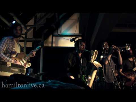 The Budos Band - Origin of Man - Live at Pepper Jacks in Hamilton, Ontario