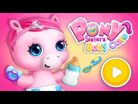 Pony Sisters Baby Horse Care   TutoTOONS Games For Kids