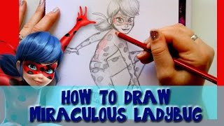 How to Draw MIRACULOUS LADYBUG - @dramaticparrot